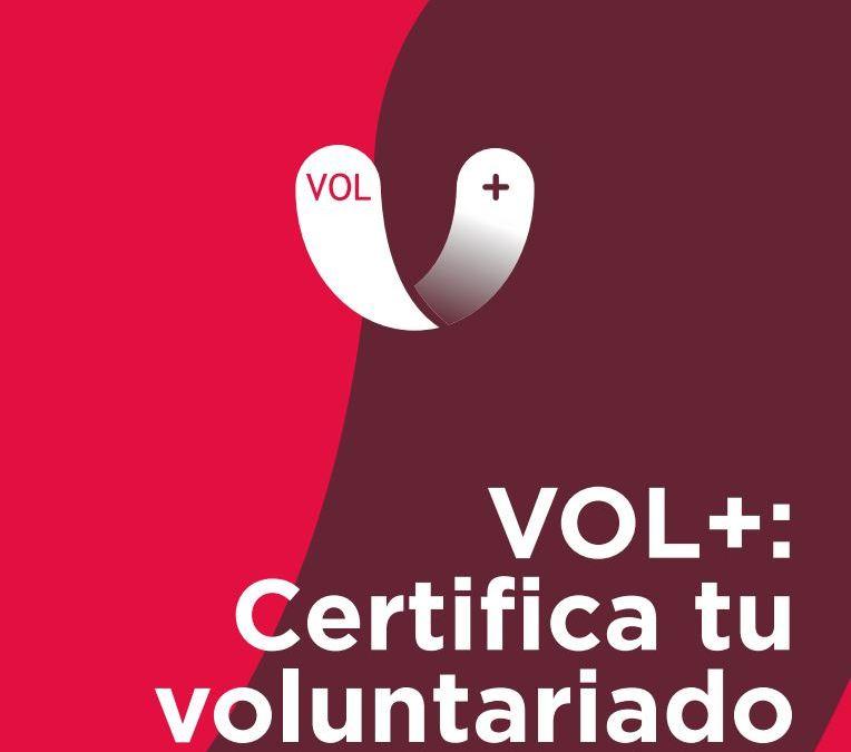 Certificación de las competencias del voluntariado: Vol+