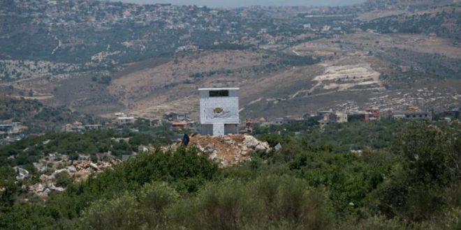 עמדת תצפית של חיזבאללה בדרום לבנון