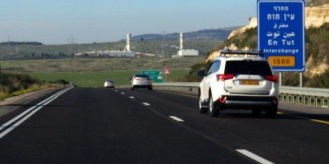 עומס תנועה בכביש 6 ממחלף עין תות לצפון בעקבות תאונת דרכים