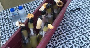 """8 בקבוקי תבערה מוכנים לשימוש אותרו ע""""י בלש..."""
