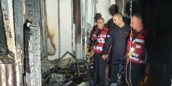 שני ילדים בני 3 ו-5 נספו בשריפה בדירה בנתניה