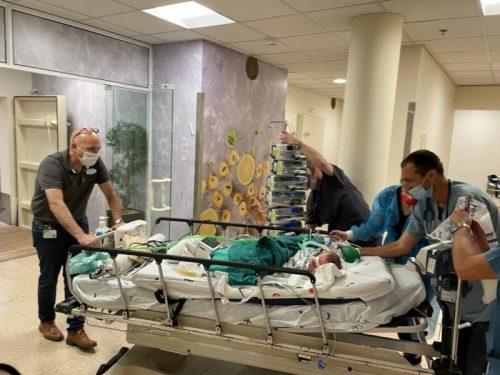 WhatsApp-Image-2021-05-13-at-15.46.01-500x375 ילדים המאושפזים בשניידר הועברו למתחם חירום ממוגן בבית החולים
