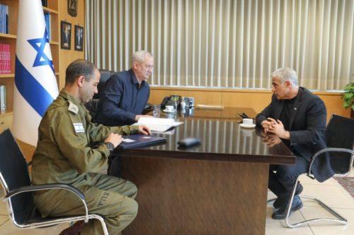 WhatsApp-Image-2021-05-13-at-16.19.53-500x333 גנץ שוחח עם לפיד על המצב הביטחוני והמצב החברתי בישראל