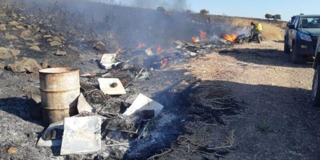 הטרור החקלאי שוב מכה בצפון: 64 כוורות שהכילו כטון וחצי דבש נשרפו כליל