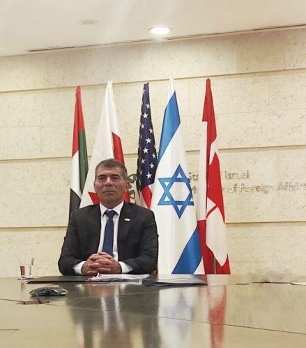 "E25HYoyXwAcHAjK-439x500 שר החוץ השתתף בפאנל יחד עם מזכיר המדינה לשעבר של ארה""ב"