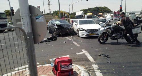 WhatsApp-Image-2021-06-10-at-11.19.29-500x268 אישה בת 32 נפצעה בינוני בתאונת דרכים בצומת סילבר סמוך לאשקלון