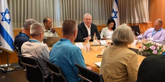 """גנץ נפגש עם יהודים אמריקאים בכירים: """"להבהיר לאיראן שכל האופציות על השולחן"""""""