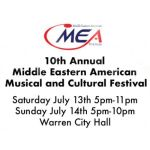 MEA TV's 10th Annual Musical and Cultural Festival