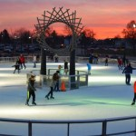 Ice Skating at Warren City Square Ice Rink