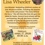 Bestselling Children's Author Lisa Wheeler Visits Warren