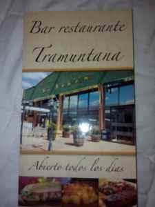 Precio cartas restaurante