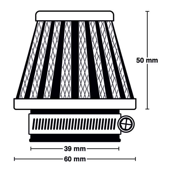 MEIWA MIW POWER FILTER M 5002 ⌀39MM