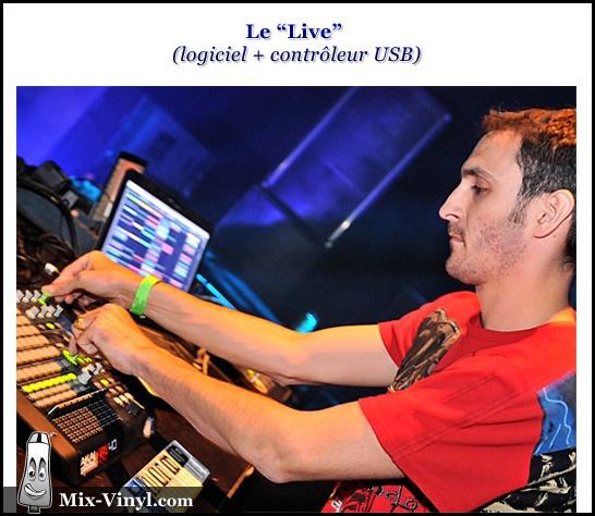 Le Live avec contrôleur USB