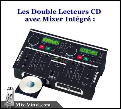 double lecteur cd dj