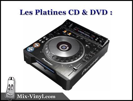 platine cd dvd