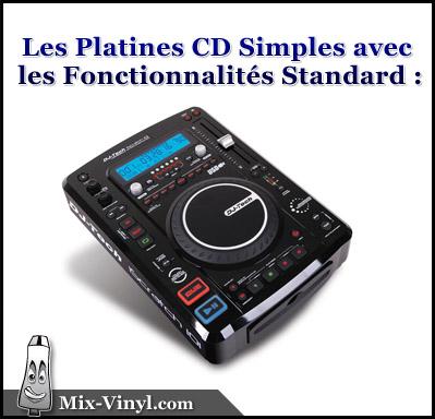 platine cd