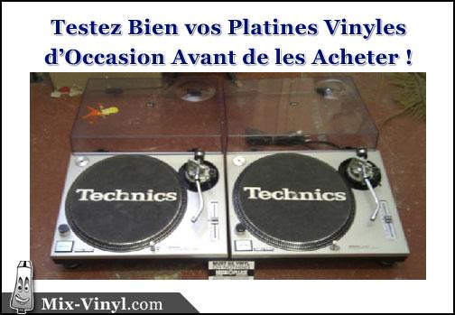 platine vinyle occasion