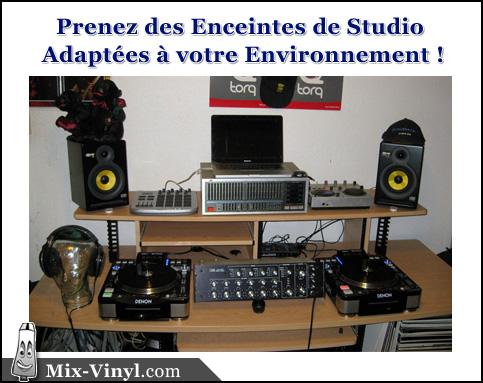 enceinte studio