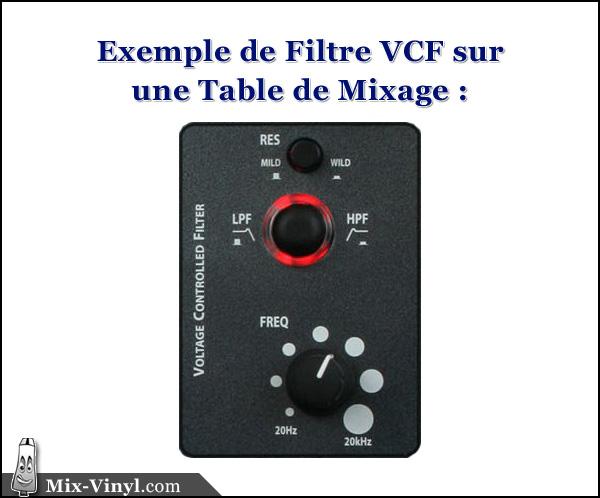 technique dj filtre vcf