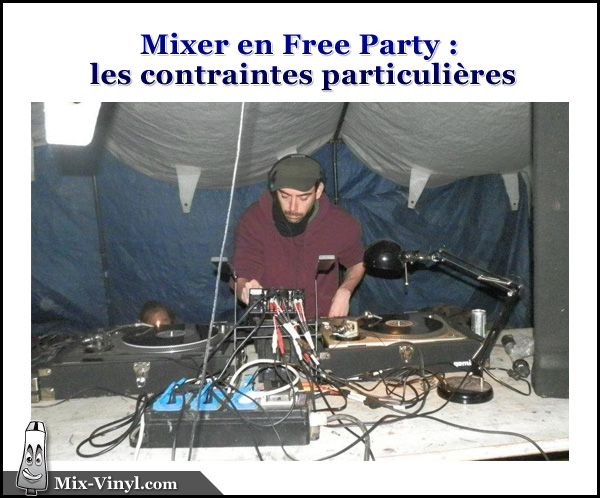 table de mixage teuf