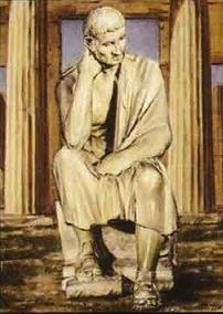 Ο φιλόσοφος Αρίστιππος.