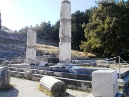 Τμήμα του Ασκληπιείου της Κως όπου φοίτησε ο Ιπποκράτης, όπως σώζεται σήμερα