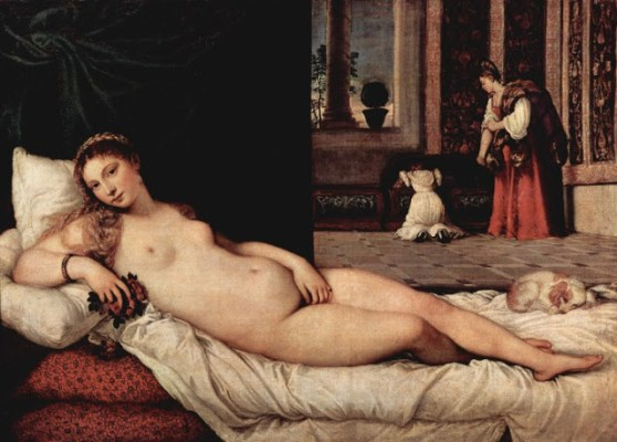 """""""Αφροδίτη του Ουρμπίνο"""". Τιτσιάνιο, 1538"""