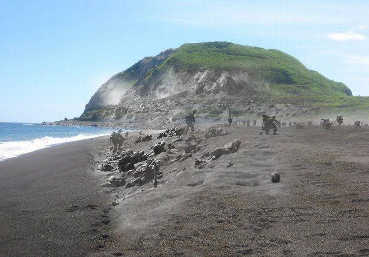 Τα φαντάσματα του Ίβο Τζίμα. Η αιματηρή απόβαση των Αμερικανών στοιχειώνει τη διάσημη παραλία. Δείτε πως είναι σήμερα