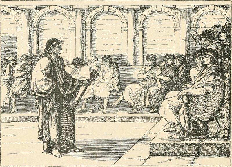 Τιβέριος, ο αυτοκράτορας της Ρώμης την περίοδο που σταυρώθηκε ο Χριστός. Δεν ήθελε το αξίωμα και έγινε γνωστός για τις σεξουαλικές διαστροφές του
