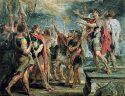 Μέγας Κωνσταντίνος. Ο αιματηρός εμφύλιος για να ανέβει στην εξουσία. Ο μετέπειτα άγιος ήταν ένας αδίστακτος στρατιωτικός. Eπισημοποίησε την ανεξιθρησκία και σκότωσε τη σύζυγο και τον πρωτότοκο γιο του
