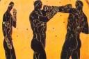 Αρχαίοι Έλληνες πυγμάχοι. Ήταν σκληροτράχηλοι και αγωνίζονταν χωρίς γάντια μέχρι τελικής πτώσεως. Τα προσόντα, οι τεχνικές και οι τεράστιες αντοχές. Θα είχε ελπίδα ο Μάικ Τάισον;