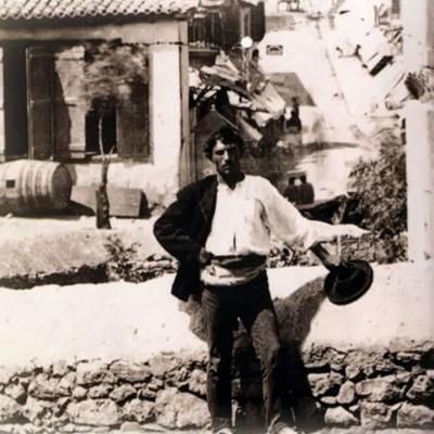 Κουτσαβάκης στην Πλάκα το 1880