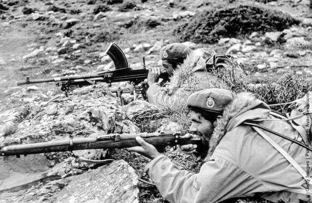 Γράμμος – Βίτσι, Αύγουστος 1949. Ο εμφύλιος σπαραγμός τελειώνει με ήττα του Δημοκρατικού Στρατού. Από τις 24 έως τις 30 Αυγούστου η επιχείρηση «Πυρσός Γ΄» «έβαλε φωτιά» στον Γράμμο
