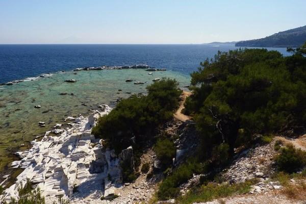 Aliki - Ancient Marble Quarry