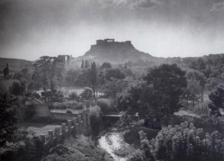 Ο Ιλισός το 1910 περίπου στο ύψος της Καλιρρόης.