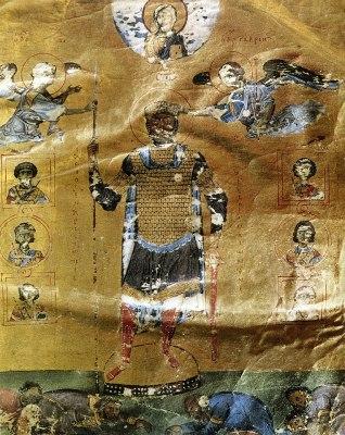 Ο Βασίλειος Β΄ο Βουλγαροκτόνος. Στράφηκε εναντίον των μεγάλων κτηματιών και των μοναστηριών.