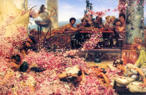 Τα Τριαντάφυλλα του Ηλιογάβαλου, Lawrence Alma-Tadema, 1888.