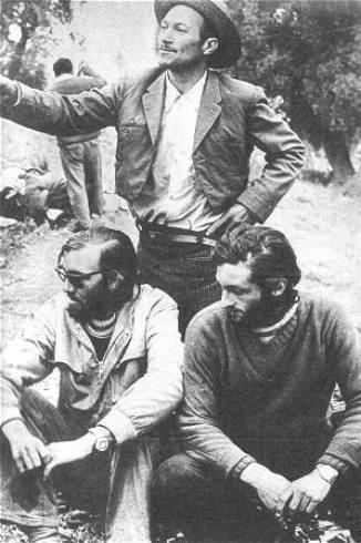 Ο Νάντα Φεράντα αριστερά και ο Ρομπέρτο Κανέσα στα αριστερά.