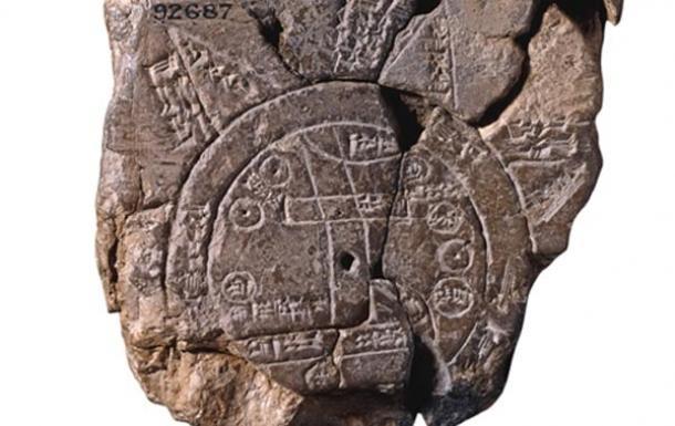 Ο αρχαιότερος χάρτης του κόσμου. Έτσι έβλεπαν τον κόσμο το 600 π.Χ, με κέντρο του σύμπαντος τη Βαβυλωνία