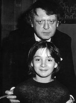 Ο Μπέρτζες με τον γιο της δεύτερης συζύγου του, Πάολο Αντρέα.