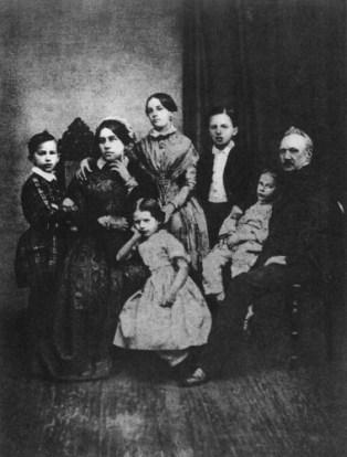 Η οικογένεια Τσαϊκόφσκι το 1848