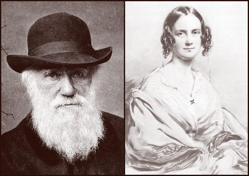 """Ο Δαρβίνος παντρεύτηκε την ξαδέλφη του, απέκτησαν δέκα παιδιά, αλλά τα τρία πέθαναν λόγω της """"αιμομιξίας"""". Η Έμμα, αν και θρησκόληπτη, τον στήριξε να εκδώσει την """"Καταγωγή των Ειδών"""""""