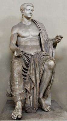 Emperor Tiberius Marble