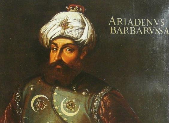 Μπαρμπαρόσα. Ο Έλληνας που έγινε μουσουλμάνος πειρατής. Οργάνωσε τον στόλο του Σουλεϊμάν και έγινε ο μακελάρης του Αιγαίου. Από αυτόν ονομάστηκε το τουρκικό ωκεανογραφικό