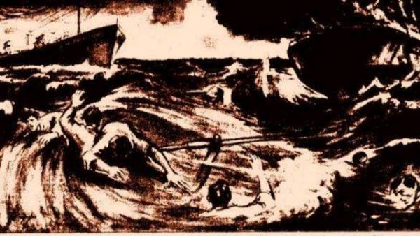 Το σχέδιο είναι του Κ. Παπαδόπουλου, ήταν το πρωτοσέλιδο της εφημ. Εμπρός στις 24/11/1962