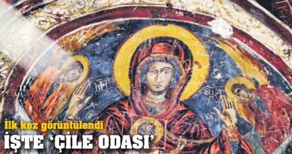 ειδικοί ερευνητές εισήρθαν για πρώτη φορά στο Βαπτηστήριο της μονής και στο Çile Odası. Εκεί έκθαμβοι ανακάλυψαν μια περίτεχνη τοιχογραφία της Παναγίας που είχε μείνει μέχρι σήμερα στο σκοτάδι από τότε που οι Πόντιοι εγκατέλειψαν τον Πόντο,