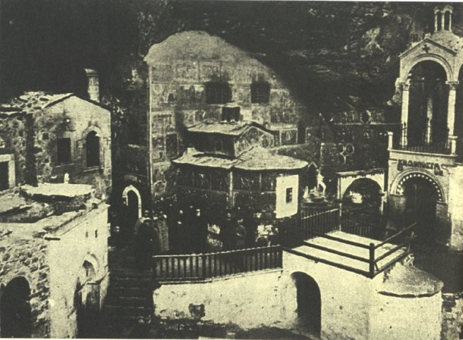 Η μονή Παναγίας Σουμελά το 1902