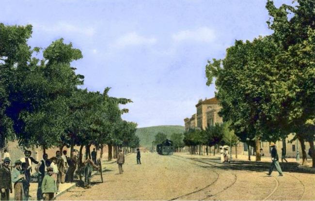 Πανεπιστημίου 1887. Την αποκαλούσαν το Μεγάλο Βουλεβάρτο,