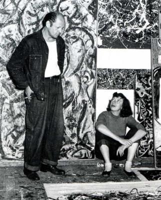 Ο Πόλοκ με την Κράσνερ