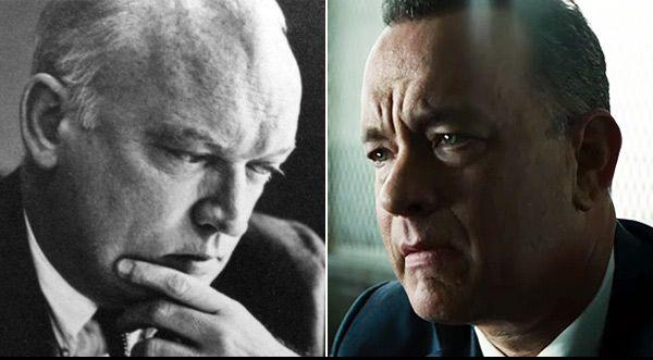 Η ανταλλαγή κατασκόπων μεταξύ Ανατολής και Δύσης ξεκίνησε χάρη στον δικηγόρο Tζέιμς Ντόνοβαν, που υποδύθηκε ο Τομ Χανκς. Απέτρεψε την εκτέλεση ενός σοβιετικού πράκτορα και απελευθέρωσε έναν αμερικανό πιλότο